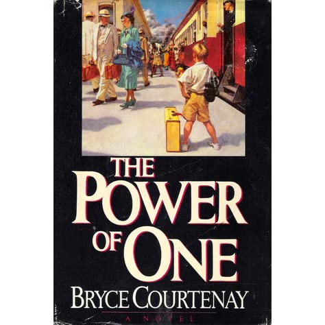 power of one bryce courtenay essay Author essay in the ballantine publicity department, we have an informal book club the power of one by bryce courtenay was one of those books.