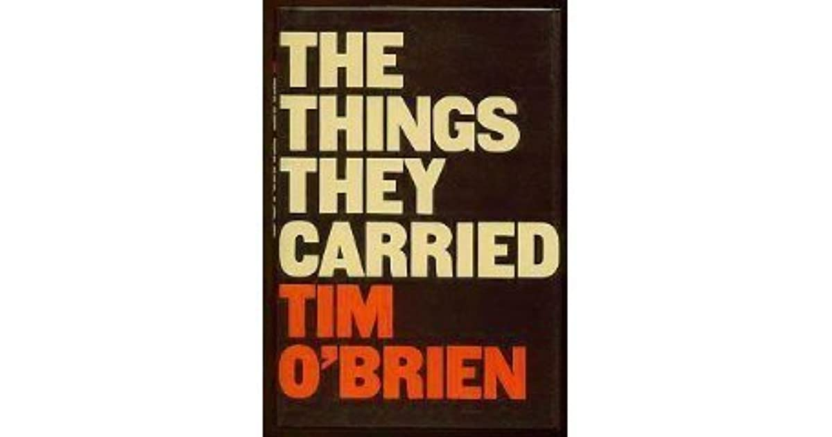 an analysis of tim obriens chronicle the things they carried O'brien (throughout the story) lists all the items that each soldier carries as they struggle through the war by listing each item o'brien manages to highlight to o'brien further explores the idea of escape through the letters and pictures that lieutenant cross has received from martha at night cross would.