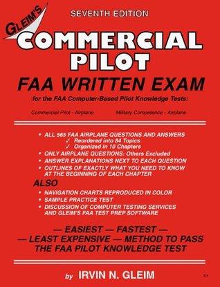 Commercial Pilot Faa Written Exam by Irvin N  Gleim