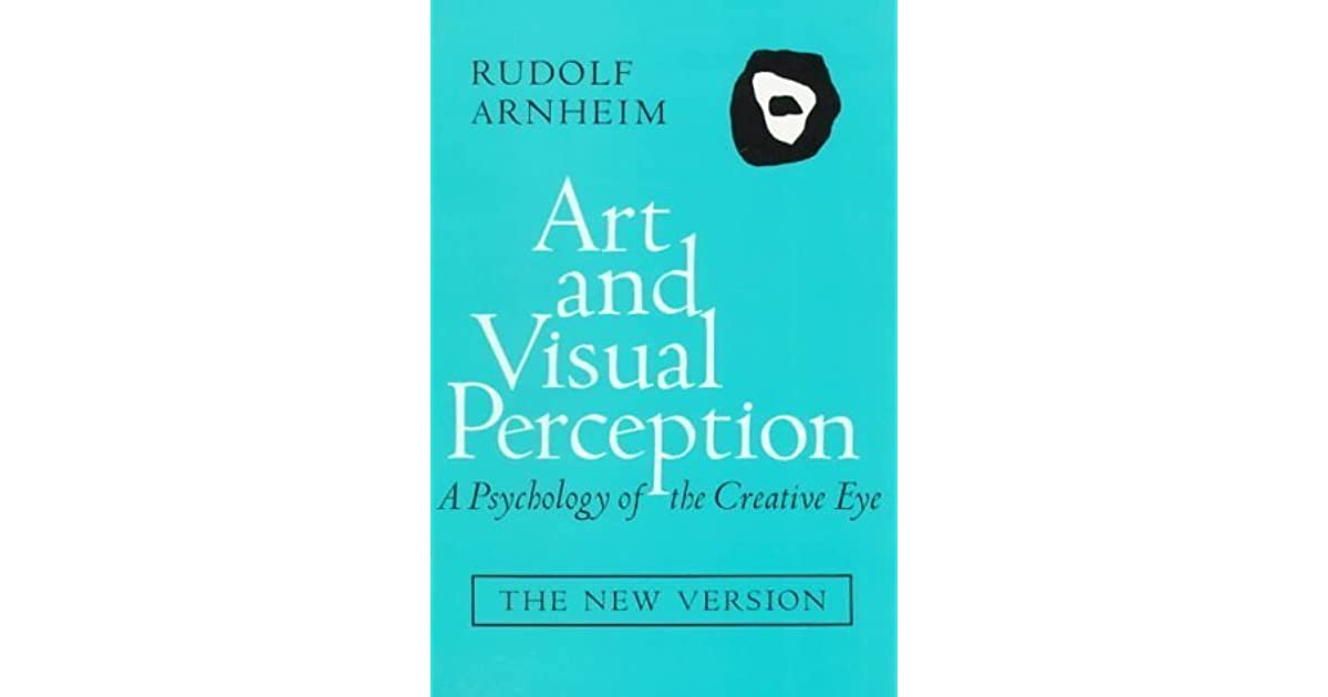 Art And Visual Perception Ebook