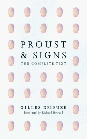 Deleuze - Proust and Signs