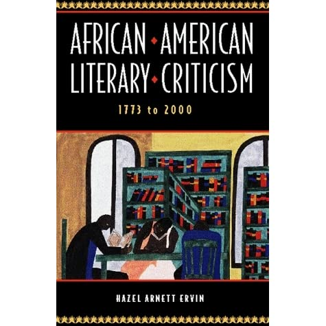 african american literature 3 essay Sample essay words 2,120 introduction african american literature is rich and profound in its ideas, but it is also acts as a medium which presents different aspects of reality faced by african americans in their daily existence.