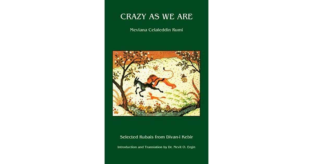 Crazy as We Are by Rumi