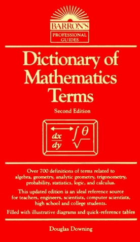 Dictionary of mathematics terms
