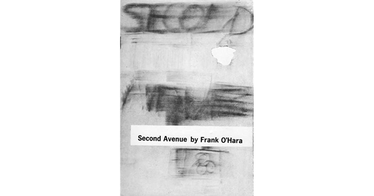Second Avenue By Frank OHara