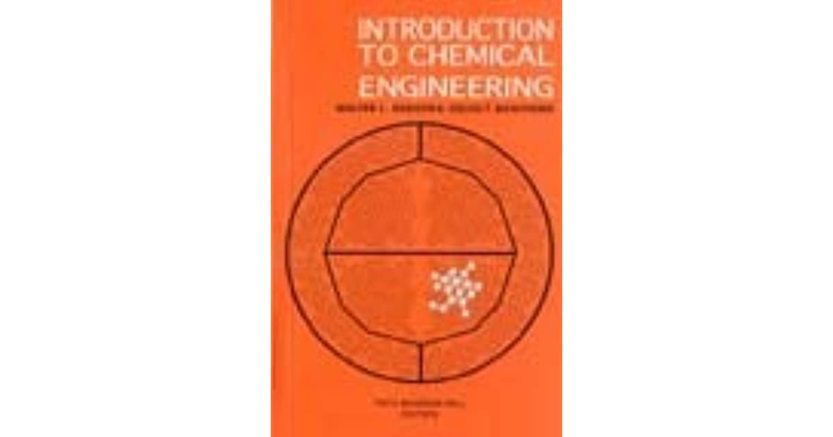 introduction to chemical engineering book pdf