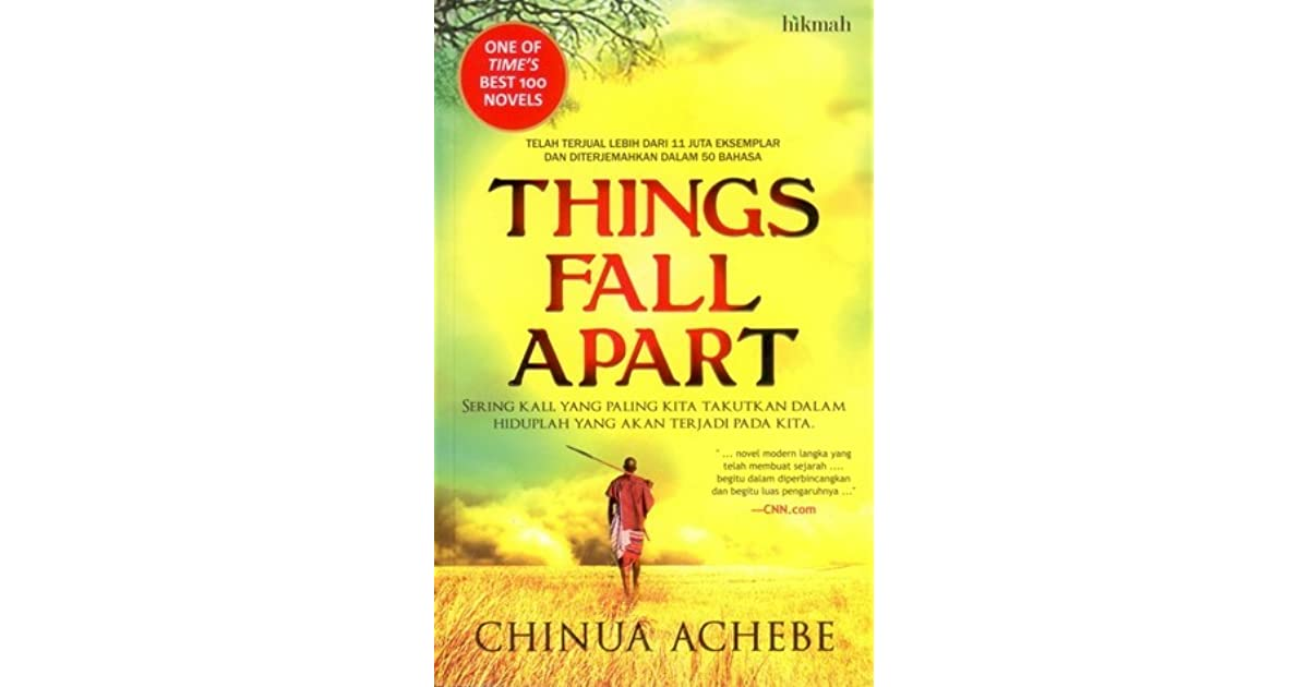 a review of chinua achebes first novel things fall apart Chinua achebe, who has died aged 82, was africa's best-known novelist and the founding father of african fiction the publication of his first novel, things fall apart, in 1958 not only contested european narratives about africans but also challenged traditional assumptions about the form and function of the novel.