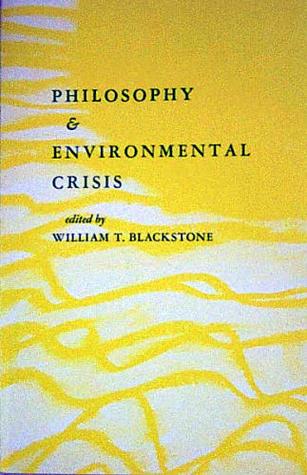 Philosophy & Environmental Crisis