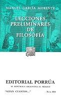Lecciones Preliminares de Filosofía. (Sepan Cuantos, #164)