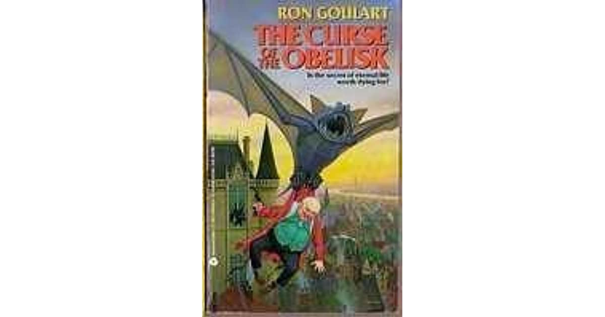 The Curse Of The Obelisk By Ron Goulart