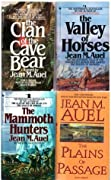 The Clan of the Cave Bear, the Valley of Horses, the Mammoth Hunters, the Plains of Passage