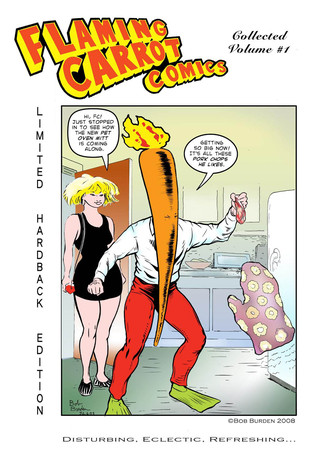 Flaming Carrot, Man Of Mystery [Collected Limited Edition Hardcover #1]
