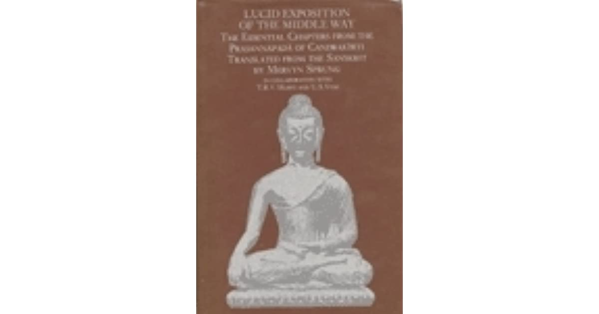 Read Lucid Exposition Of The Middle Way The Essential Chapters From The Prasannapada Of Candrakirti By Mervyn Sprung