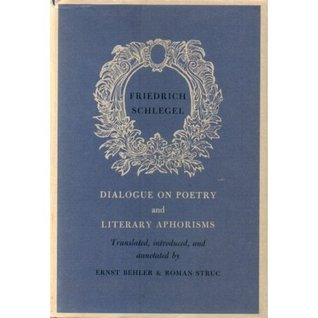 Dialogue On Poetry And Literary Aphorisms