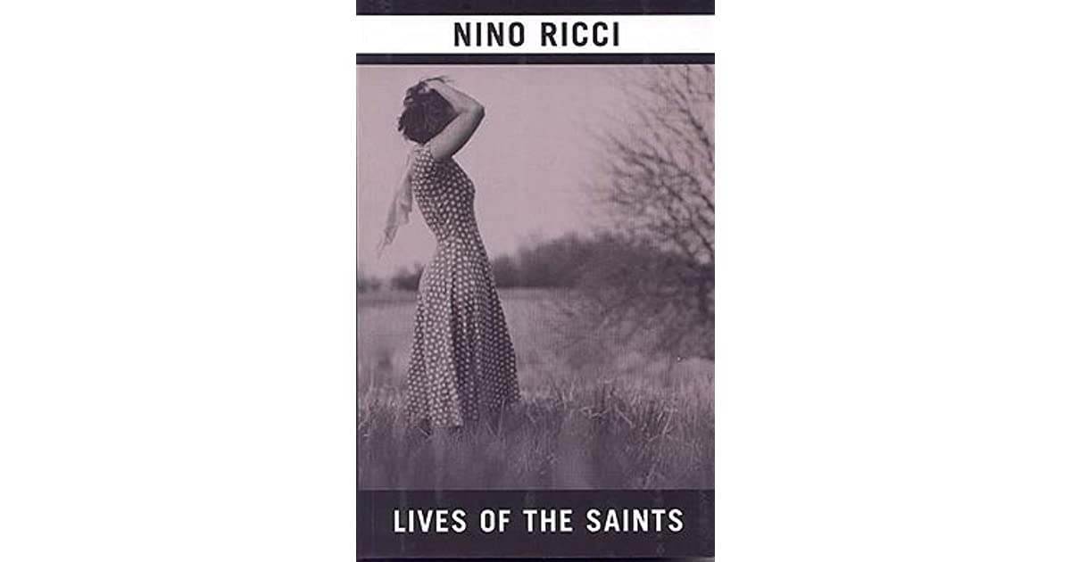 nino ricci lives of the saints Nino ricci's new novel, sleep, turns the author's narcolepsy into a tense, unexpected thriller about an author who's life disentegrates both.