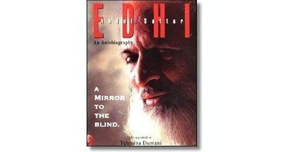 mirror to the blind A mirror to the blind is a biography of dr abdul sattar edhi, a world renowned philanthropist the book was written by tehmina durrani and first published to make squares disappear and save space for other squares you have to assemble english words (left, right, up, down) from the falling squares.