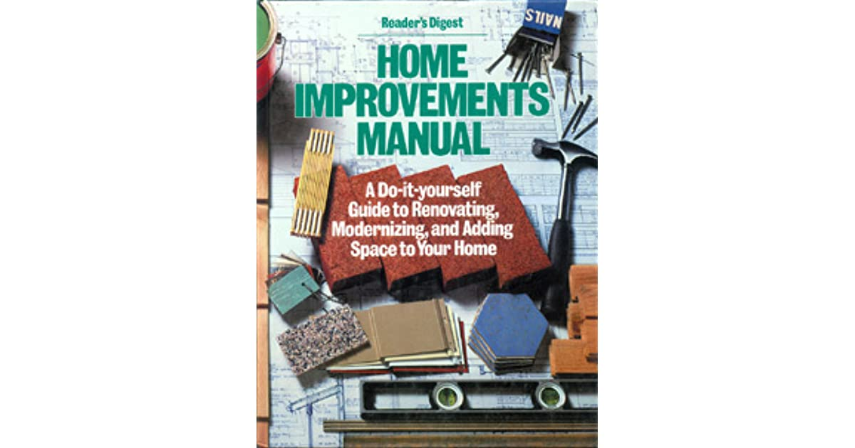 Readers digest home improvements manual by readers digest readers digest home improvements manual by readers digest association solutioingenieria Gallery
