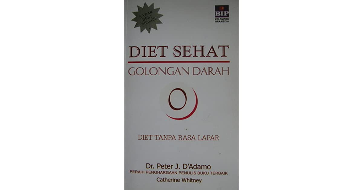 Diet Sehat Golongan Darah O by Peter J. D Adamo
