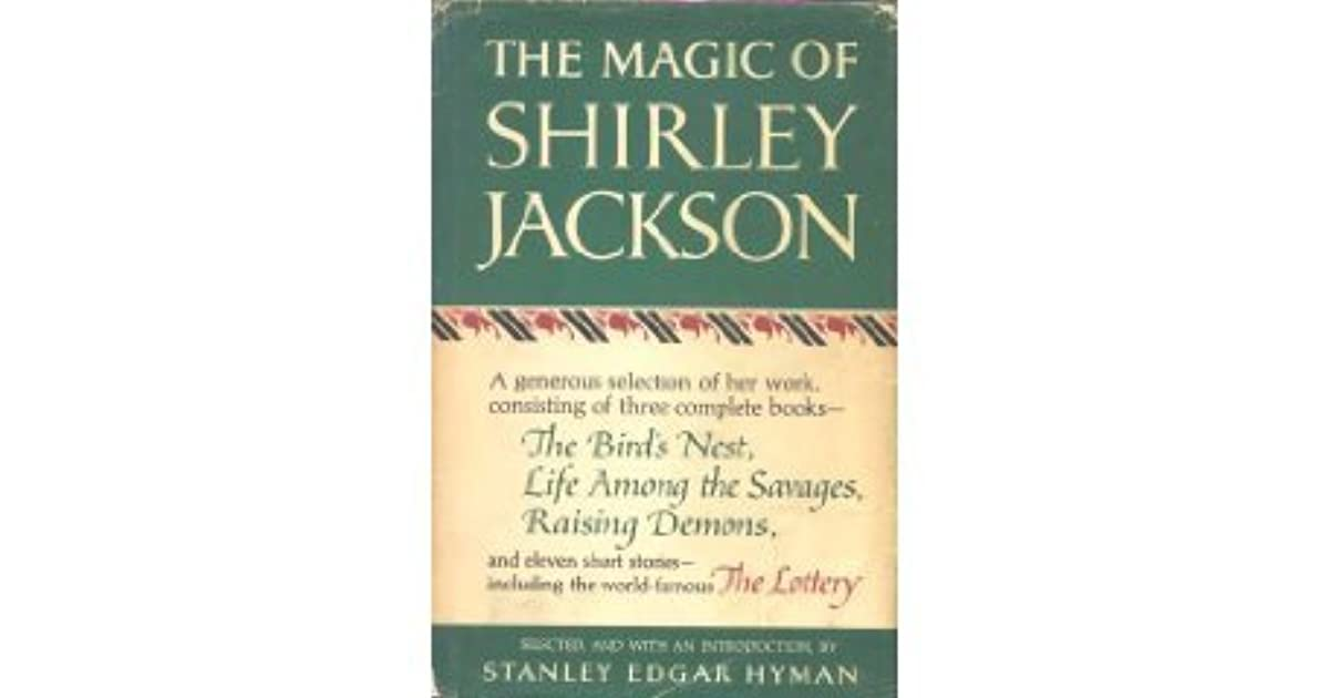 The Magic Of Shirley Jackson By Shirley Jackson