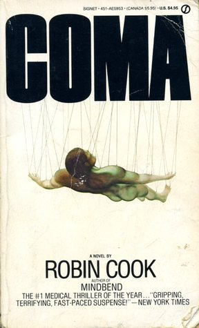 "Book cover of ""Coma"" by Robin Cook"