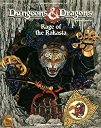 Rage of Rakasta: Dungeons and Dragons Game Module