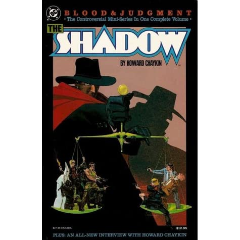 The Shadow Blood And Judgement By Howard Chaykin