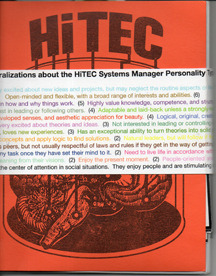 """HiTEC (Histrionic Thought Experiment Cooperative) """"Systems Management"""""""