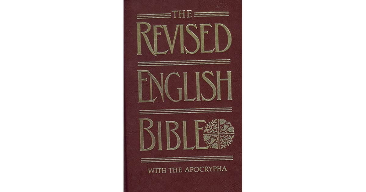 Holy Bible: Revised English Bible With Apocrypha by Anonymous