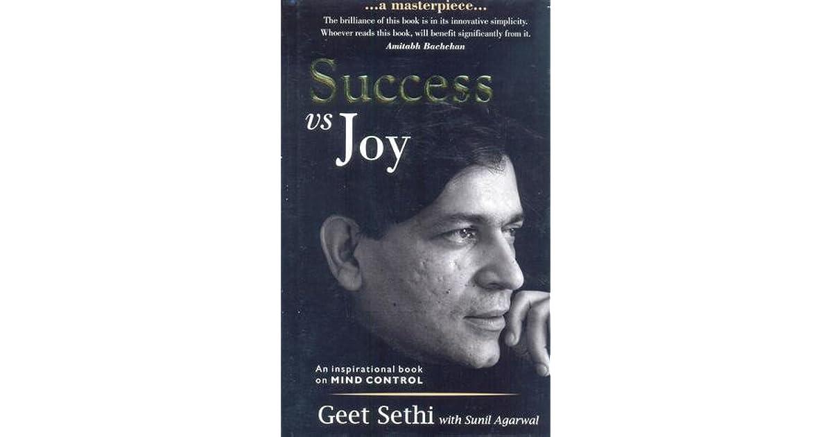Success vs Joy by Geet Sethi