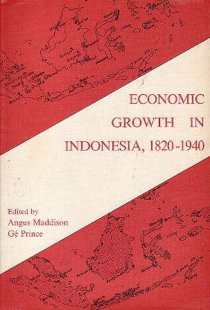 Economic Growth in Indonesia, 1820-1940