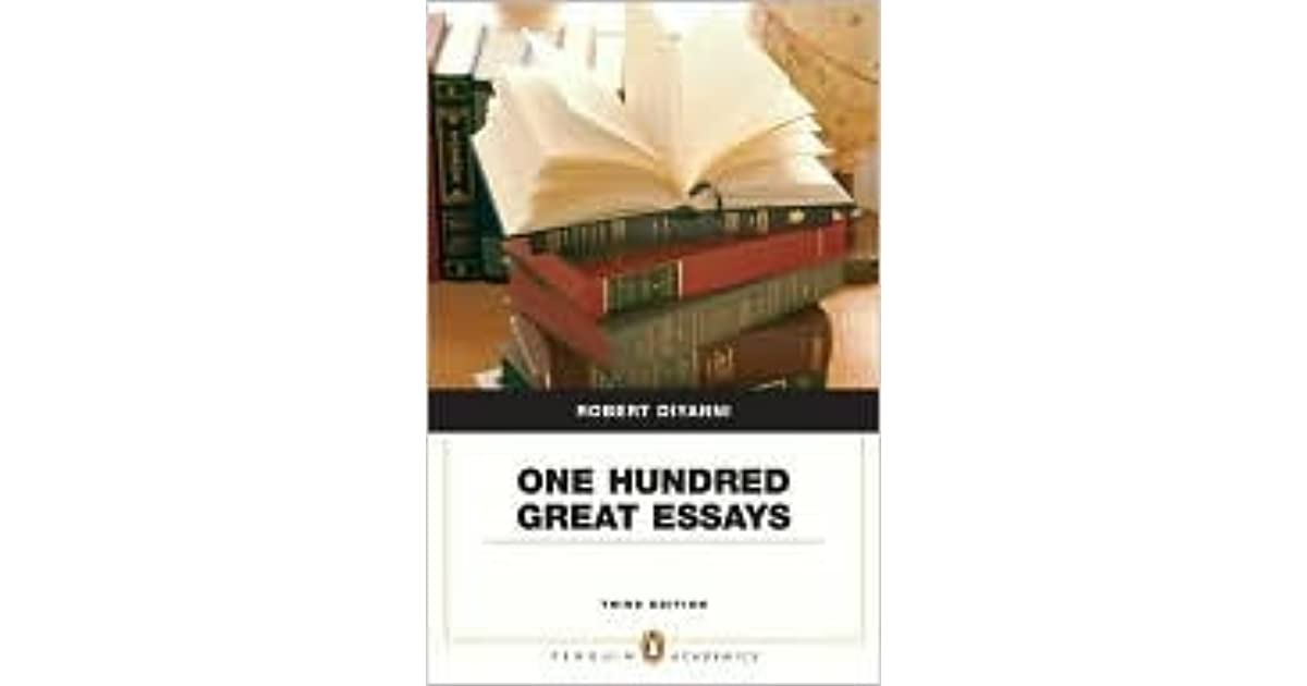 one hundred great essays diyanni