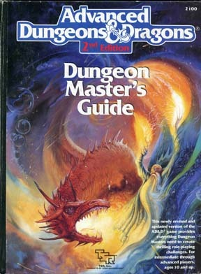 Dungeon Master's Guide (Advanced Dungeons & Dragons, Stock #2100)