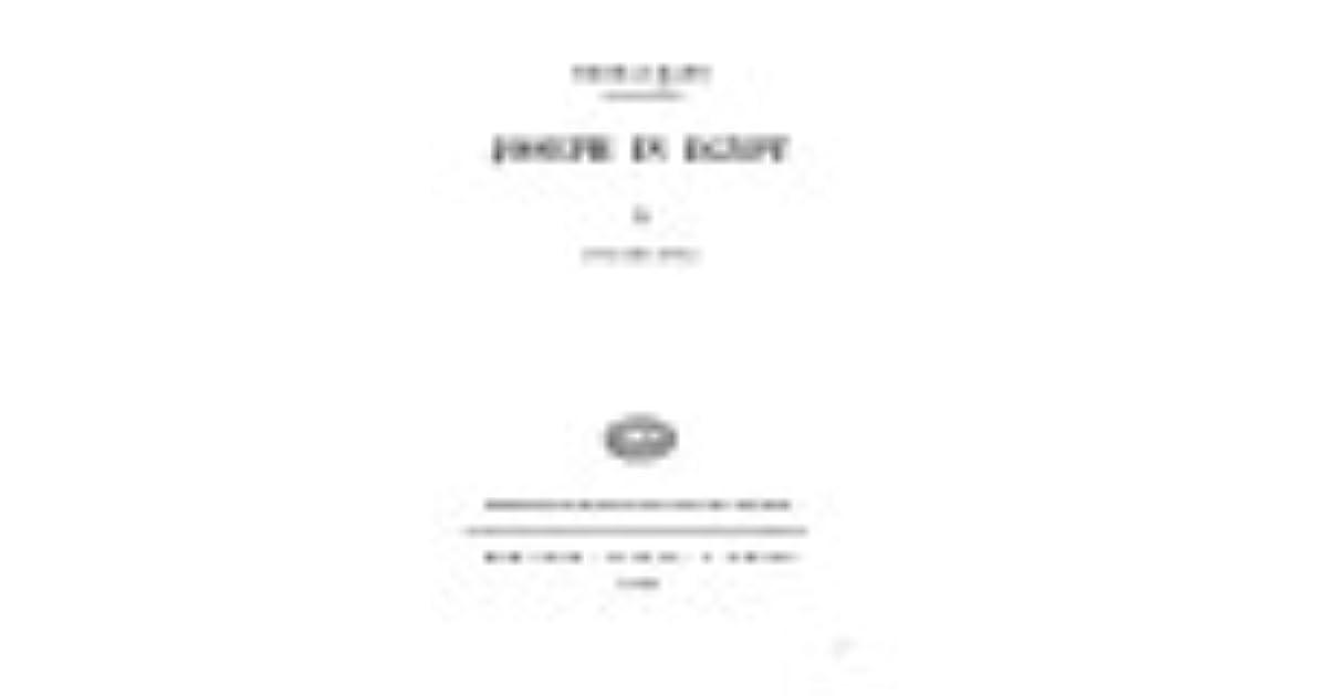 Joseph In Egypt by Thomas Mann