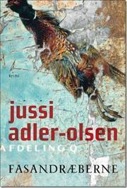 Fasandræberne by Jussi Adler-Olsen