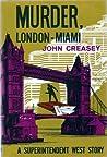 Murder, London-Miami (Inspector West, #37)
