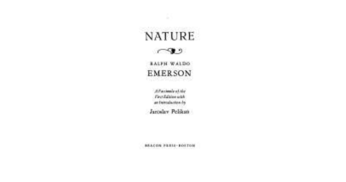 nature essay analysis Nature summary and analysis nature is emerson's first essay publication (1836) in which he expostulates the foundations of what would later be known as transcendentalism.