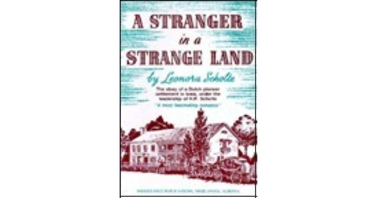 A Stranger In A Strange Land By Leonora R Scholte