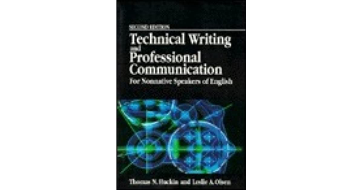technical writing and professional communication pdf