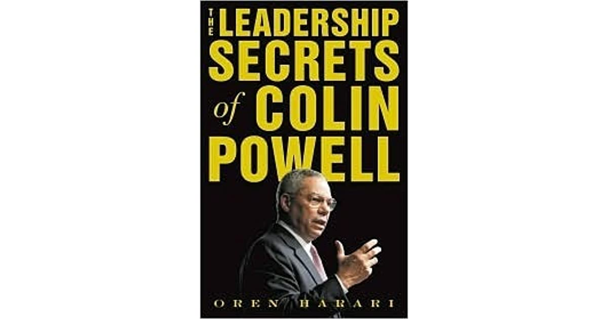 leadership tips associated with colin powell