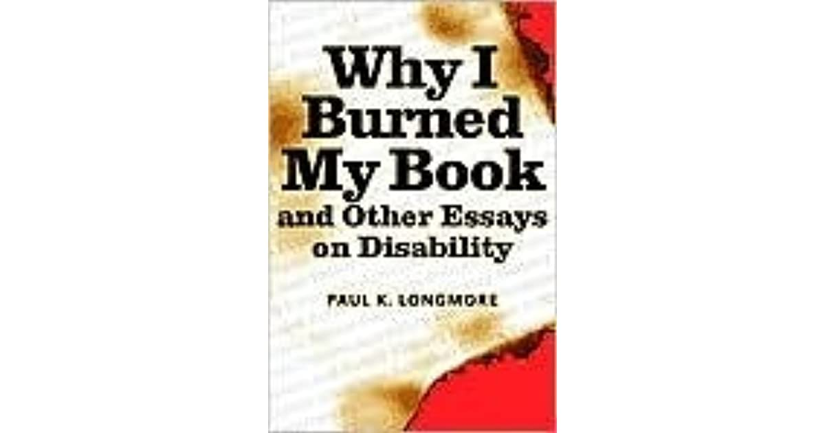 book burning essay