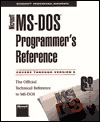 Microsoft MS-DOS Programmer's Reference (Microsoft Professional Reference)