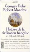 Histoire de la civilisation française 2: XVIIe siècle-XXe siècle