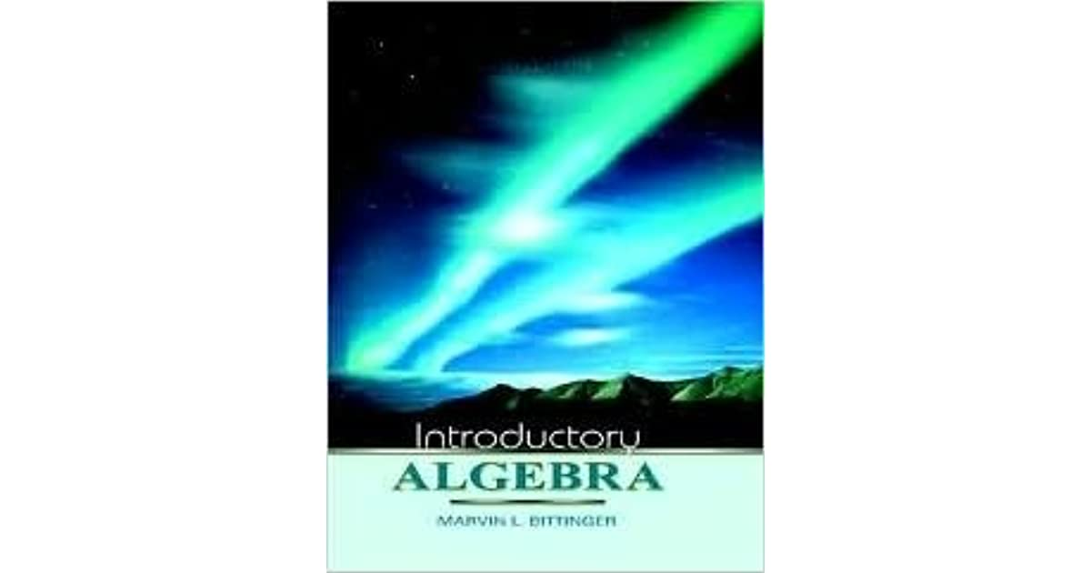Introductory Algebra By Marvin L Bittinger