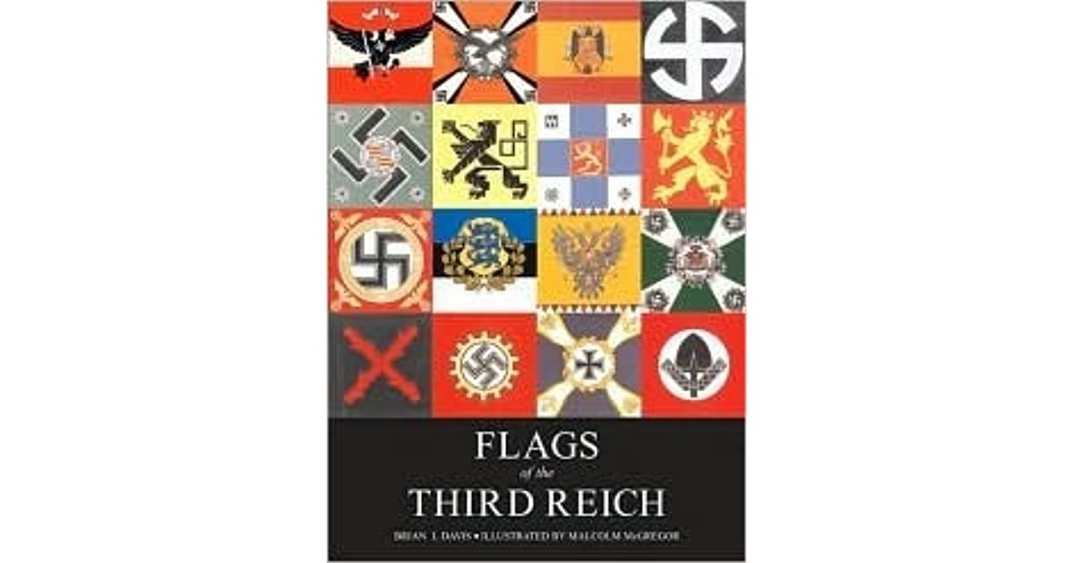 Flags of the Third Reich by Brian Davis