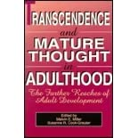 Try adulthood in mature thought transcendence can not
