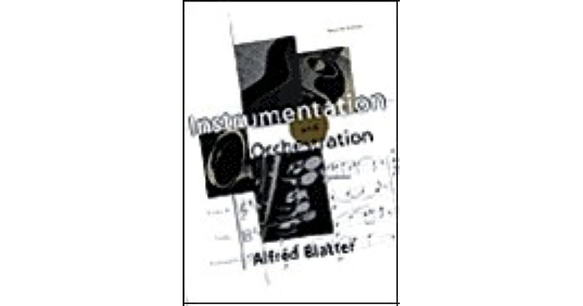 INSTRUMENTATION ORCHESTRATION ALFRED BLATTER PDF