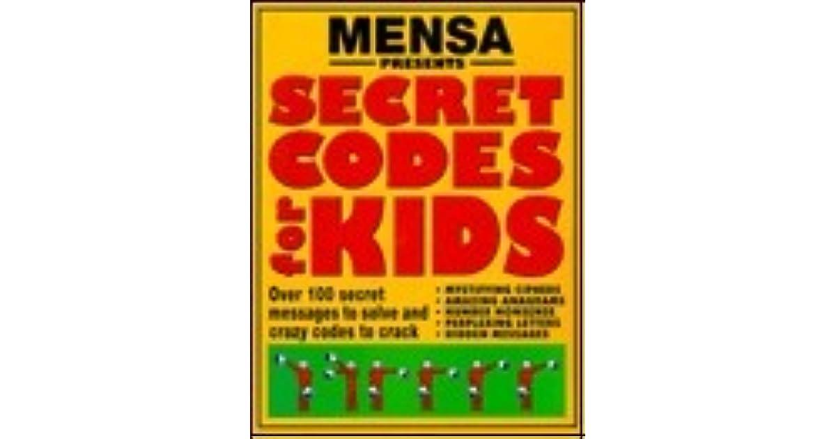 Mensa presents secret codes for kids by Robert Allen