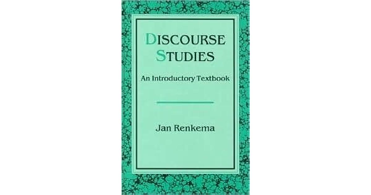jan renkema discourse studies