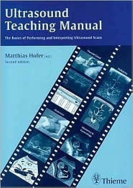 ultrasound teaching manual by matthias hofer rh goodreads com Teacher Manuals Textbooks Teacher Manuals Textbooks