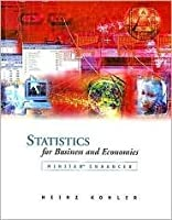 Statistics for Business and Economics by Heinz Kohler